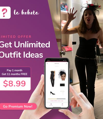 How to Halloweenify your outfit with La Koketa app?🎃👻