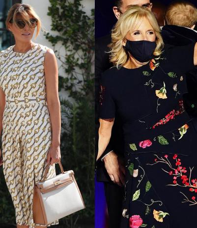 First Ladies Style: Melania Trump vs. Jill Biden – who wears it best