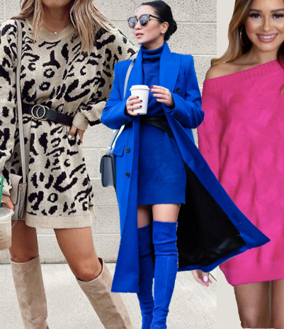 Sweater Dress Outfits
