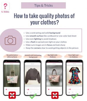 How to take quality photos of your clothes?
